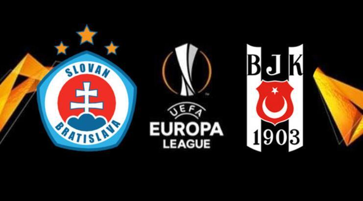 Slovan Bratislava-Beşiktaş maçı muhtemel 11'ler! Maç saat kaçta hangi kanalda?
