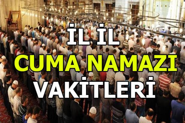 Namaz vakitleri | Cuma namazı saat kaçta? (Ankara, İstanbul, İzmir ve diğer iller)