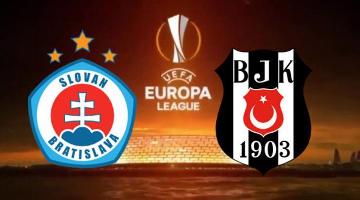 Slovan Bratislava Beşiktaş maçı hangi kanalda şifreli mi? BJK muhtemel ilk 11