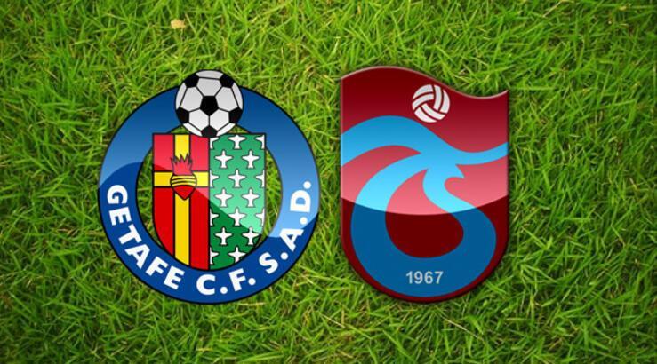 Trabzonspor'un ilk 11'i belli oldu! Getafe Trabzonspor maçı şifreli mi hangi kanalda canlı izlenecek?