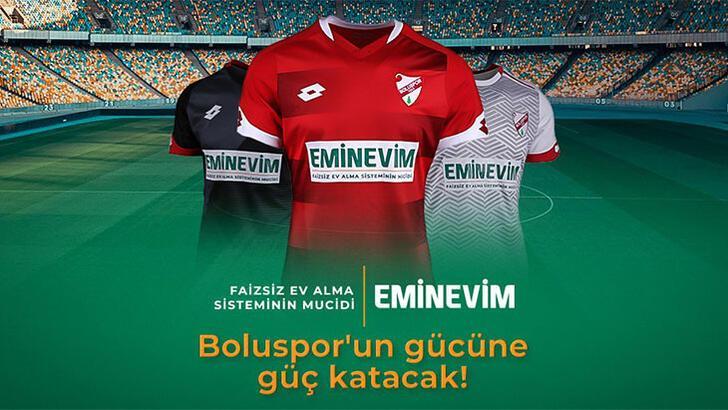 Boluspor'un yeni forma sponsoru Eminevim