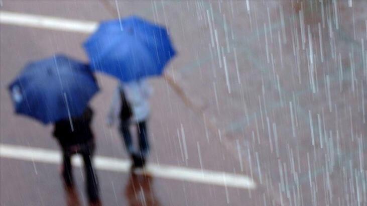 Meteoroloji'den 5 il için sağanak uyarısı