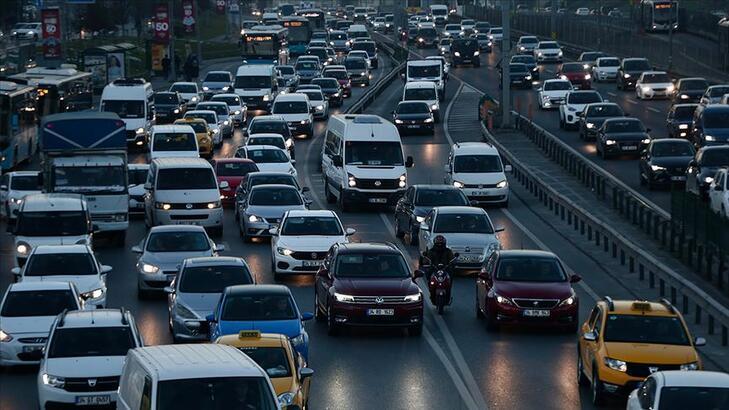 İstanbul trafiği son durum... Trafik yoğunluk haritası...