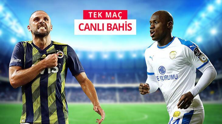Fenerbahçe'nin konuğu Ankaragücü! Canlı bahisle Misli.com'da...