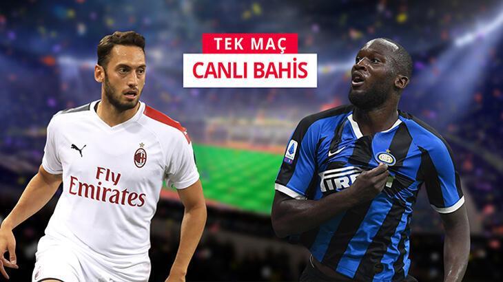 Milano Derbisi'de Milan'ın konuğu Inter! Canlı bahisle Misli.com'da...