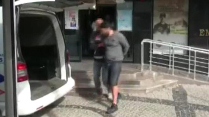 Kadıköy'de vahşet! Köpeği vurup balkondan attılar