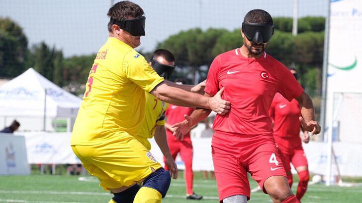 Türkiye, Görme Engelliler Avrupa Şampiyonası'nda yarı finalde