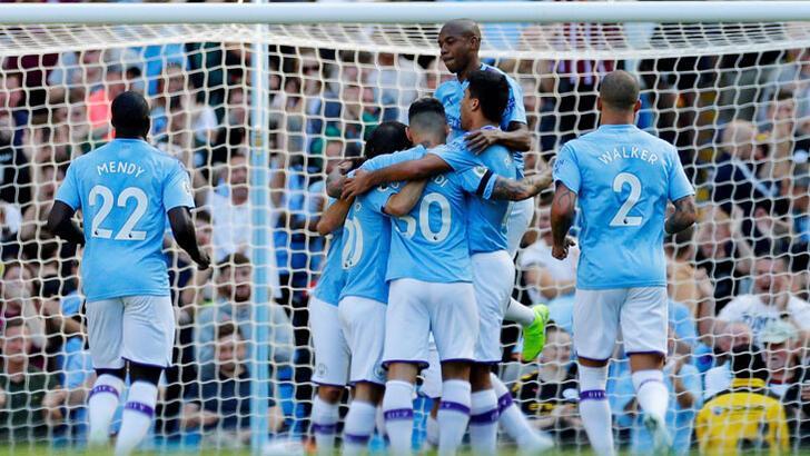 Manchester City-Watford: 8-0