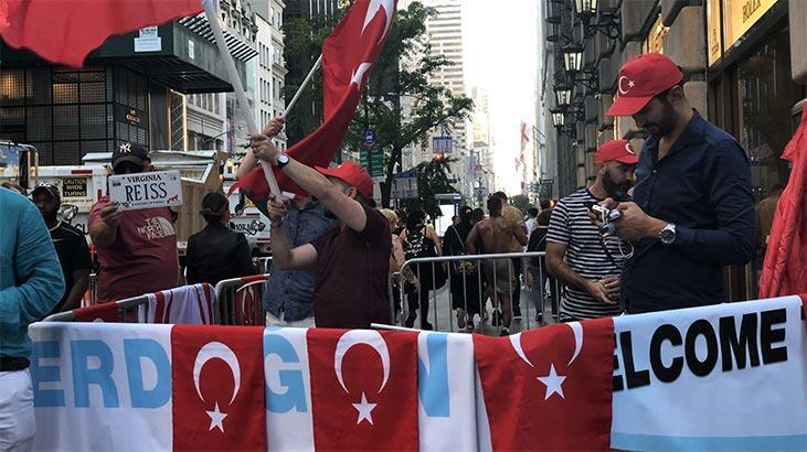 ABD'de Türkler Cumhurbaşkanı Erdoğan'ı bekliyor