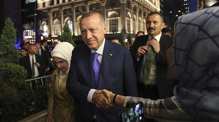 Cumhurbaşkanı Erdoğan ABD'de! New York'ta sevgi seli