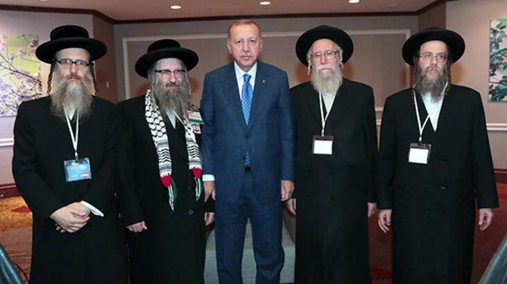 Cumhurbaşkanı Erdoğan, Siyonizme Karşı Yahudiler Birliği heyetini kabul etti