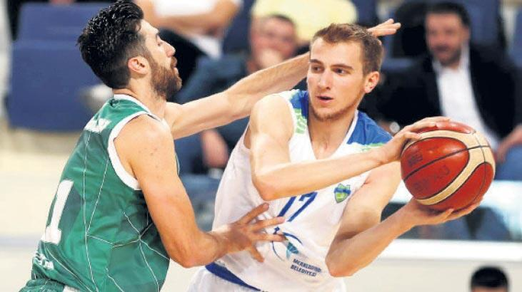 Merkezefendi Belediyesi Denizli Basket'ten iyi prova