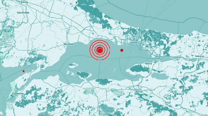 Son dakika... İstanbul'da deprem!