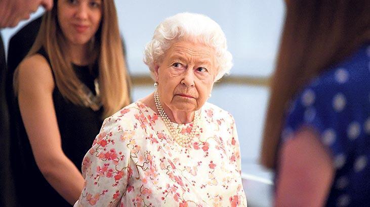 Kraliçe'yi bile zor duruma soktu