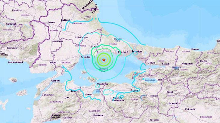 Son dakika... İstanbul'da şiddetli deprem! Okullar tatil edildi