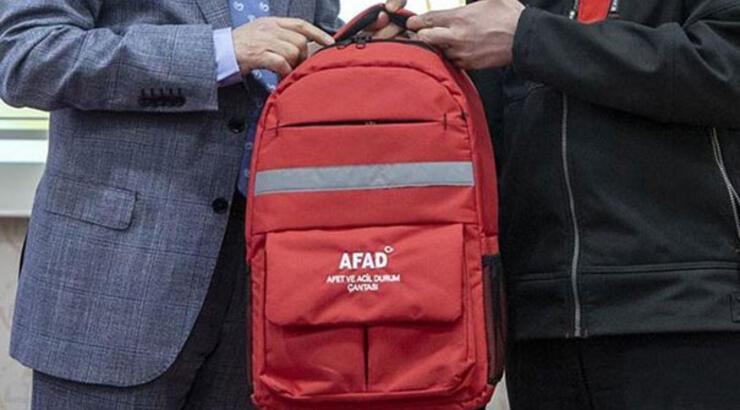 Deprem çantasında bulunması gerekenler | AFAD deprem çantasında neler olmalı?