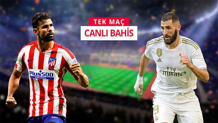 Madrid derbisinin canlı bahis heyecanı Misli.com'da