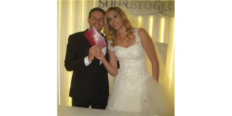 Milli voleybolcu Seda Tokatlıoğlu Tokat'ta evlendi