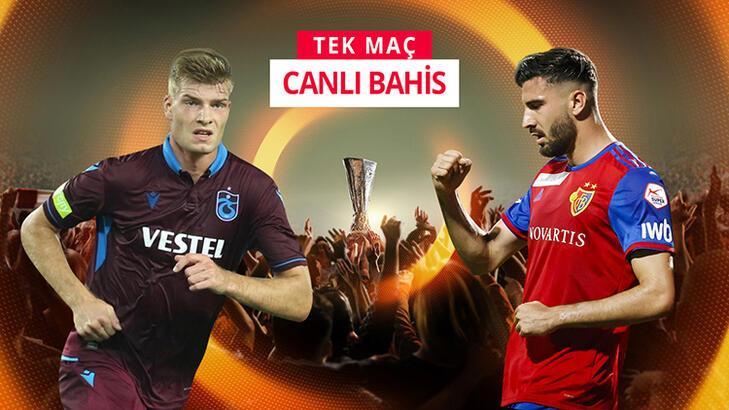 Trabzonspor - Basel canlı bahis heyecanı Misli.com'da
