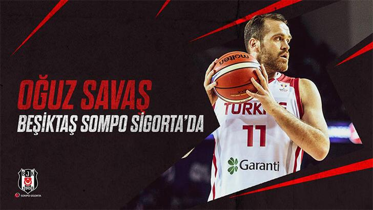 Beşiktaş Sompo Sigorta, Oğuz Savaş'ı açıkladı
