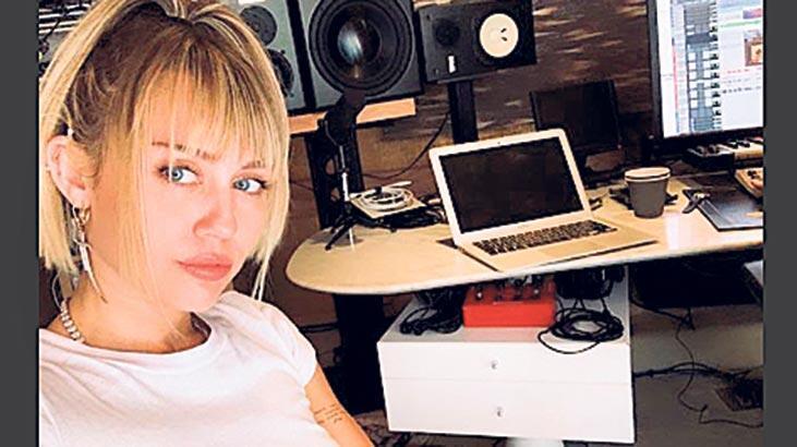 Çok yaratıcı Miley