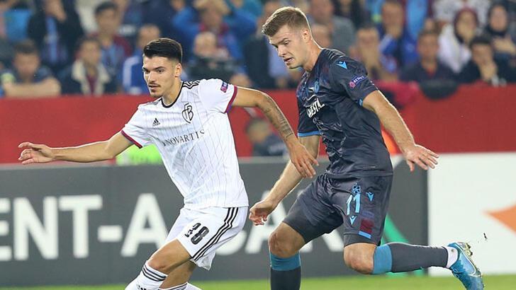 Trabzonspor-Basel: 2-2