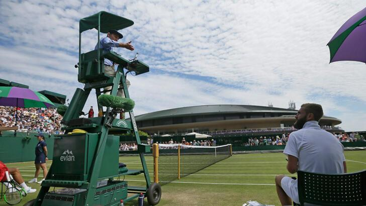 Tenis hakeminden skandal sözler