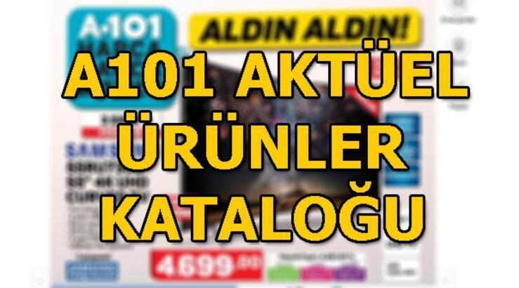 A101 aktüel ürünler kataloğu! 3 Ekim A101 ürün kataloğu