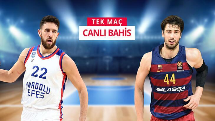 Anadolu Efes - Barcelona maçı heyecanı Misli.com'da
