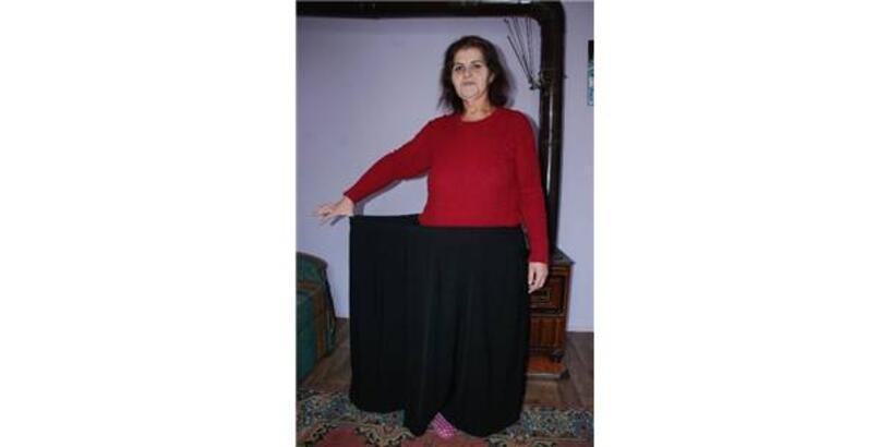 2.5 yılda 135 kilo verdi
