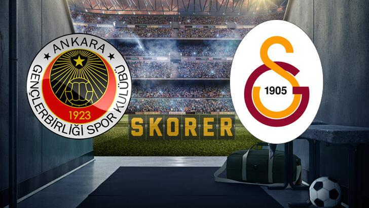 Galatasaray'da 3 önemli eksik! Gençlerbirliği-Galatasaray maçı saat kaçta hangi kanalda?