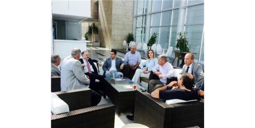 AK PARTİ MKYK ÜYESİ GEDİKLİ'DEN ANKARA LOJİSTİK ÜSSÜ'NE ZİYARET