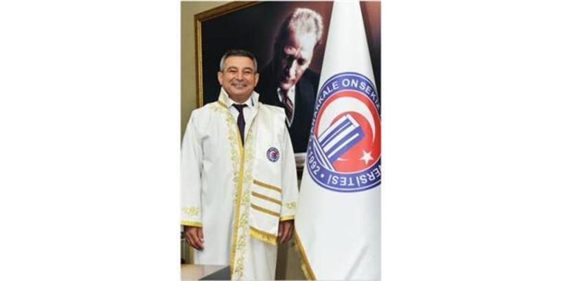 ÇOMÜ REKTÖRÜ ACER'DEN 'BİLDİRİ' AÇIKLAMASI