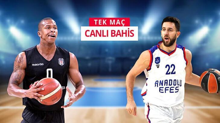 Beşiktaş - Anadolu Efes heyecanı Misli.com'da