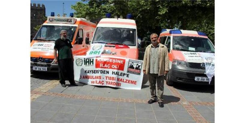 İHH'DEN SURİYE'YE AMBULANS YARDIMI