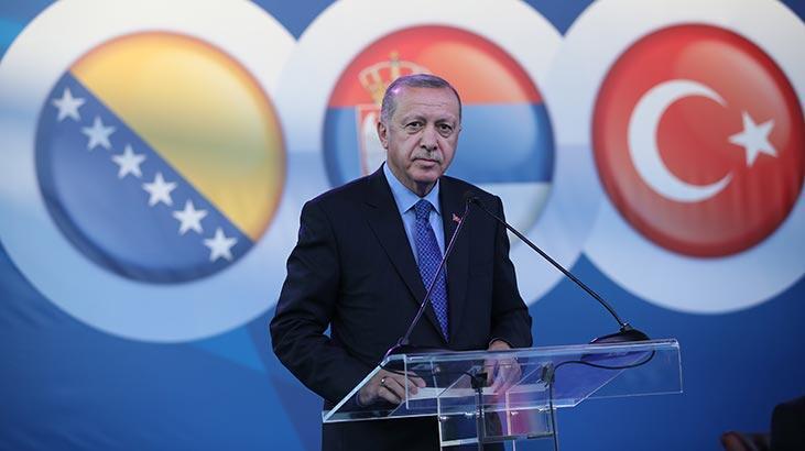 Cumhurbaşkanı Erdoğan Sırbistan'da açıkladı: Devam edeceğiz