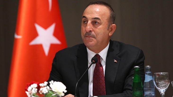 Dışişleri Bakanı Çavuşoğlu Cezayir'de Türk iş insanlarıyla buluştu