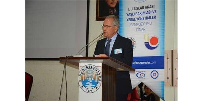 Uluslararası Yaşlı Bakım Ağı Ve Yerel Yönetimler Sempozyumu Dinar'da Yapıldı