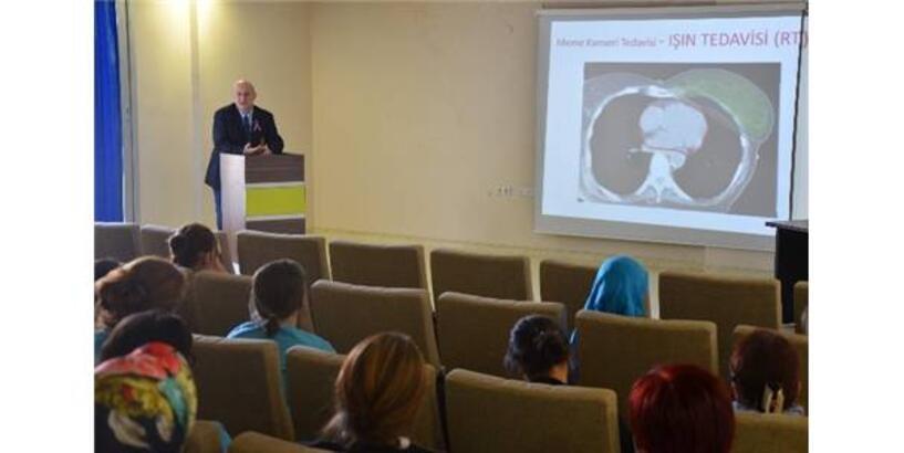 Adü'de Meme Kanserinde Farkındalık Toplantısı Düzenlendi