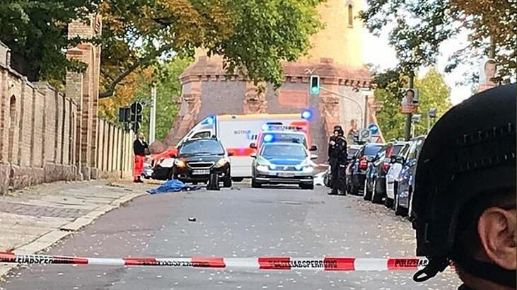 Almanya'da sinagog ve Türk dönercisinde silahlı saldırı: 2 kişi öldü