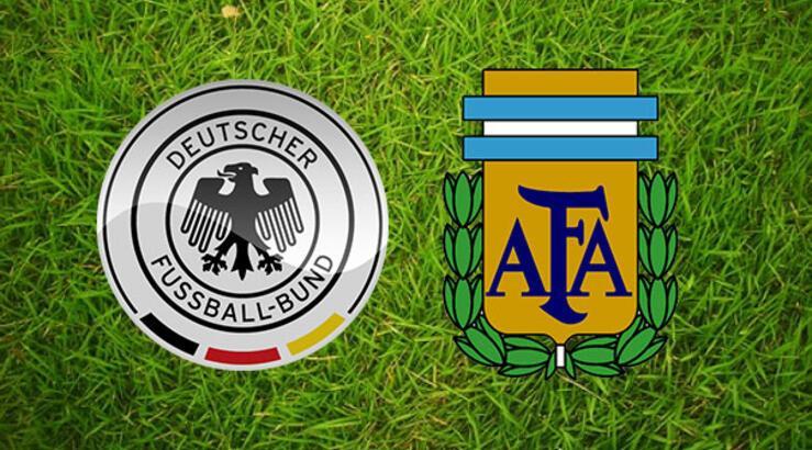 Almanya-Arjantin hazırlık maçı bu akşam saat kaçta hangi kanalda?