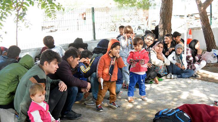 Çanakkale'de 190 kaçak göçmen yakalandı