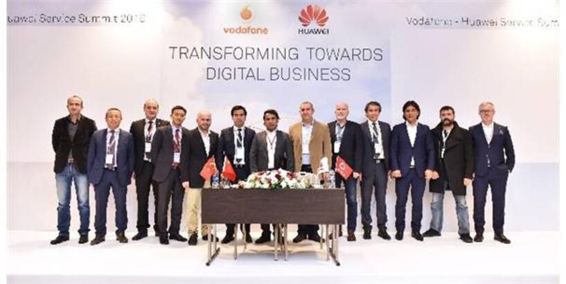 Vodafone Ve Huawei'den Türkiye'ye Teknoloji Transferi İçin İşbirliği