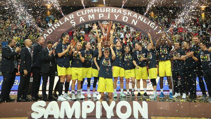 Cumhurbaşkanlığı Kupası'nı Fenerbahçe ÖK kazandı!