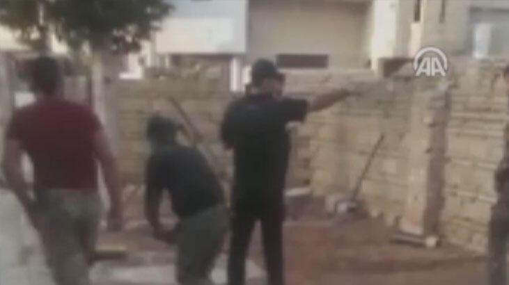 Teröristlerin Türkiye'ye saldırısı kamerada!