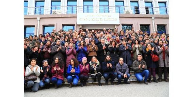 Ankara Üniversitesindeki İhraçlara Tepki