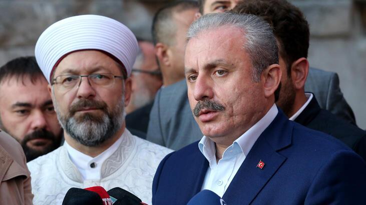 TBMM Başkanı Şentop: 'Terör yapılanmasının yeniden oluşmasına göz yumamayız'