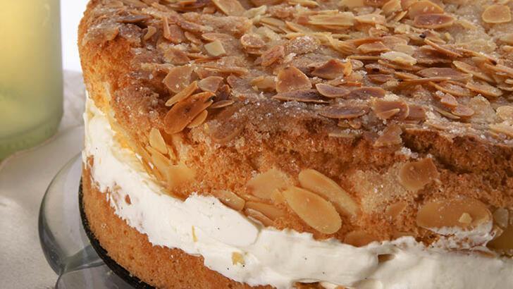 Bienenstich (Arı sokması pastası) tarifi