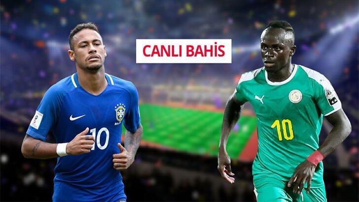 Brezilya-Senegal canlı bahis heyecanı Misli.com'da