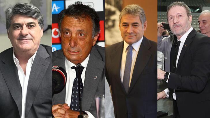 Beşiktaş'ta 4 isim başkanlığa aday oldu!